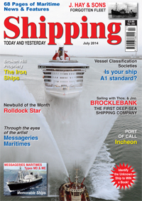 Shipping T&Y Magazine Cover