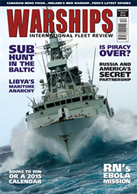 Warships IFR Magazine Cover