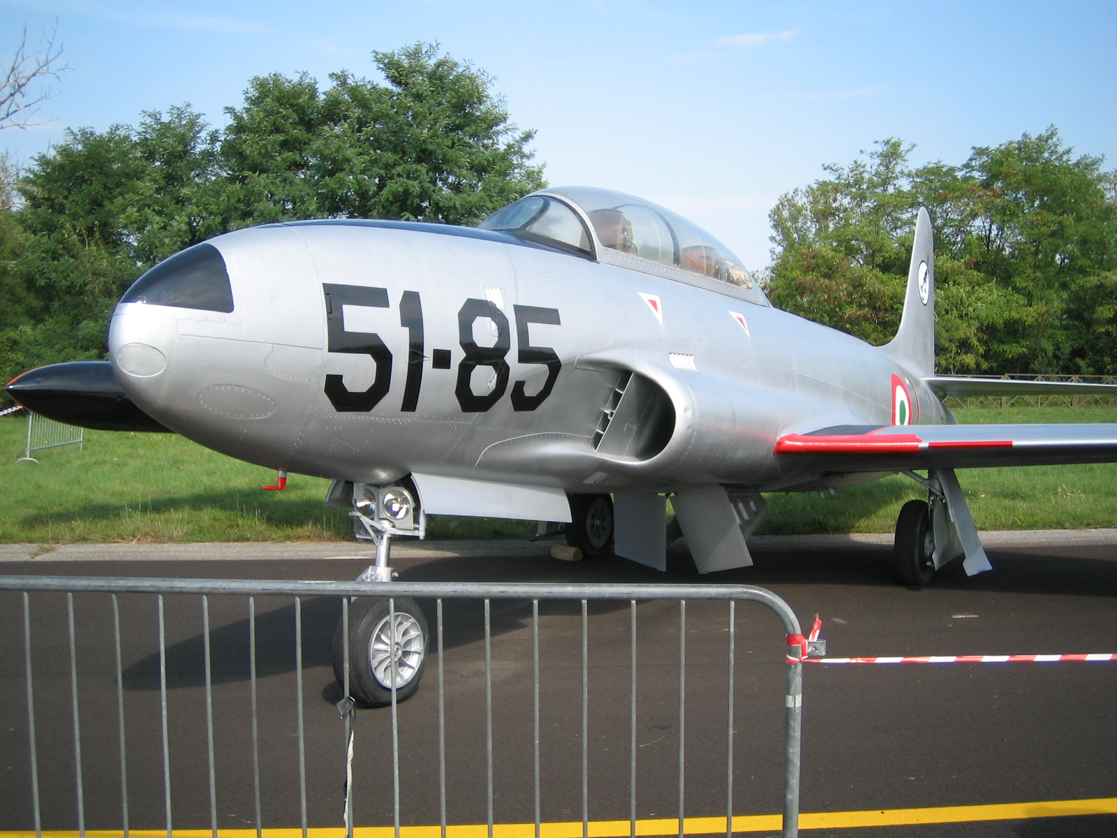 Image of Lockheed T-33A