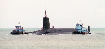 UK'S NUCLEAR DETERRENT SAILS ON… FOR NOW