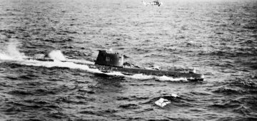 OBSTINATE HEROISM OF 'SUBMARINER WHO SAVED THE WORLD'